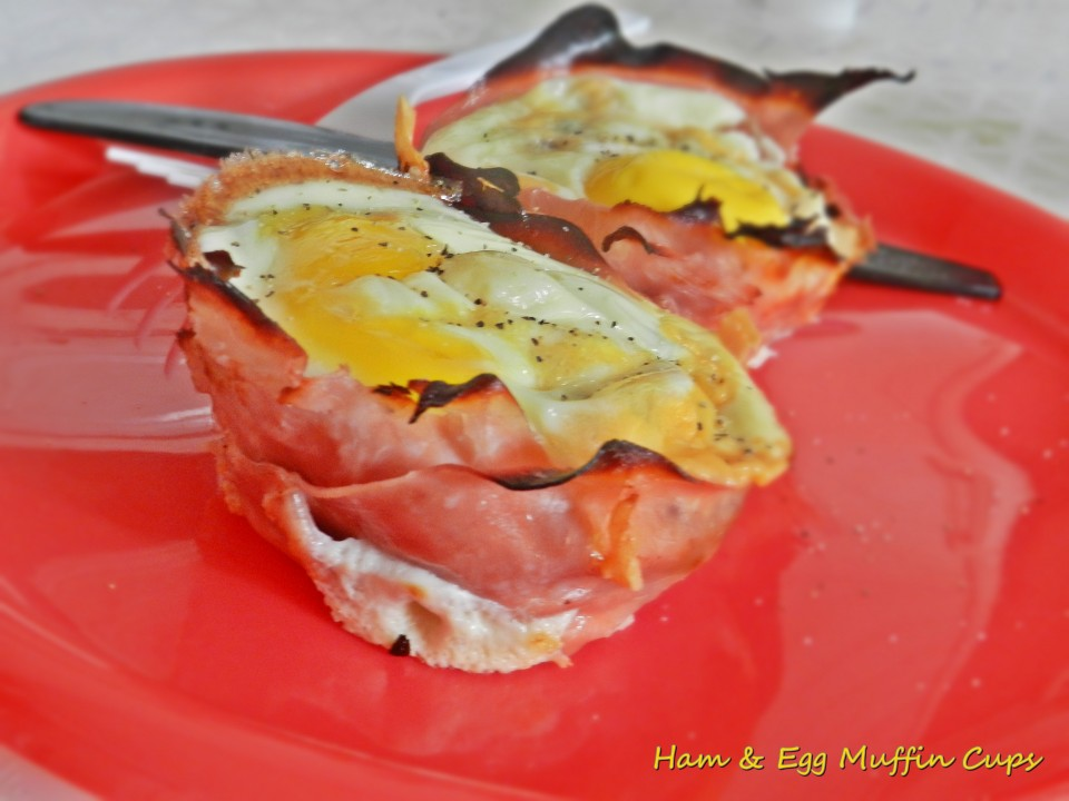 Ham & Egg Breakfast Muffin