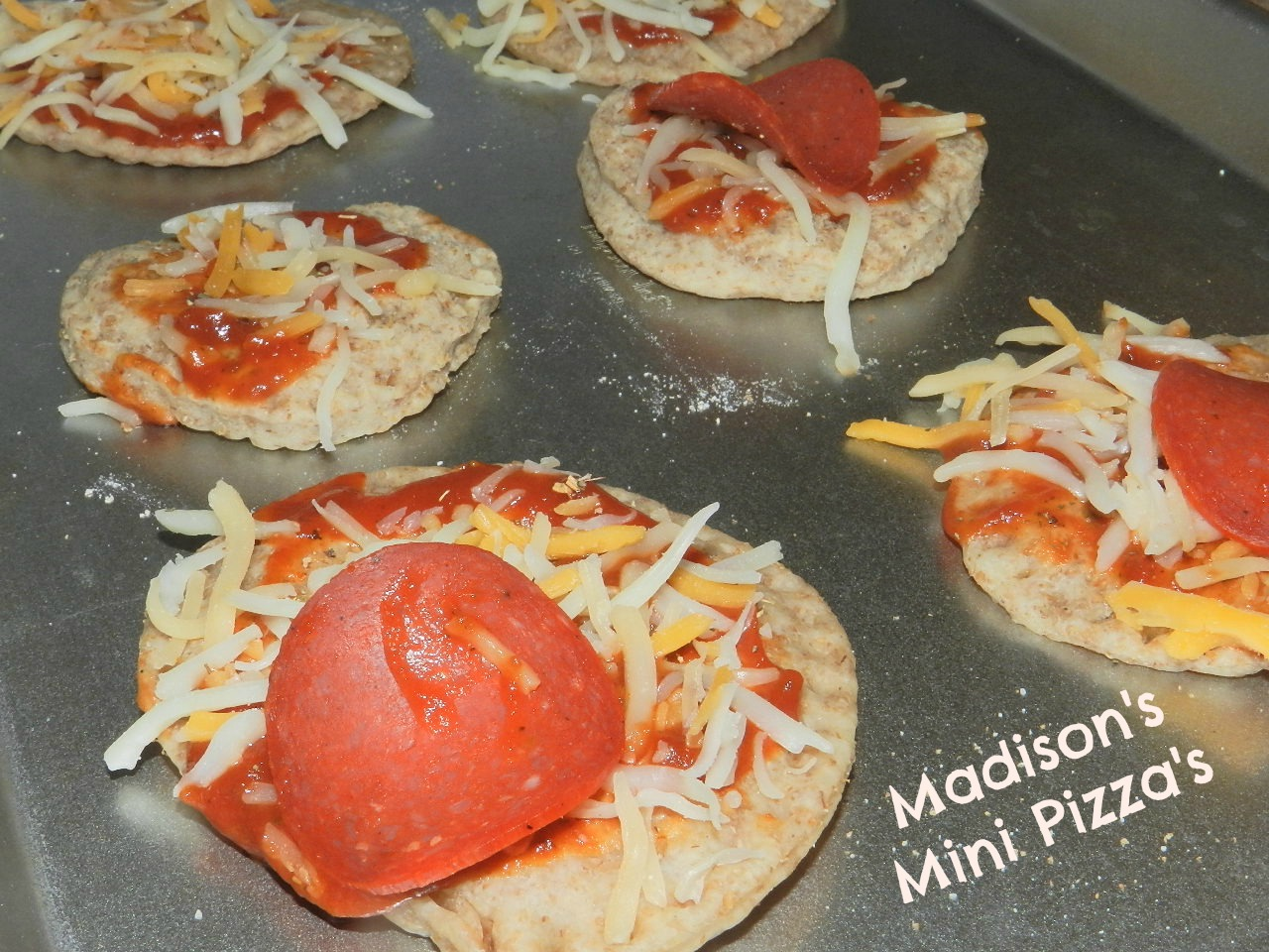 Madison's Mini Pizza's