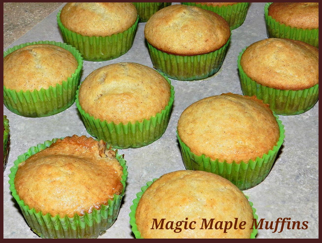 Magic Maple Muffins