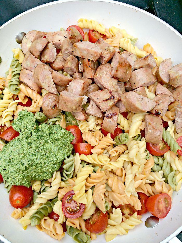 Pesto & Pasta Chicken Dinner p