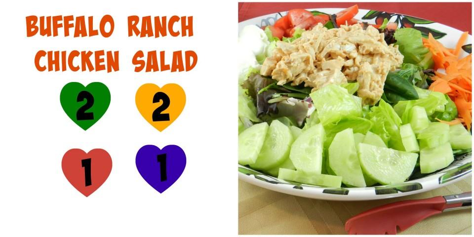 Buffalo Ranch Salad 21
