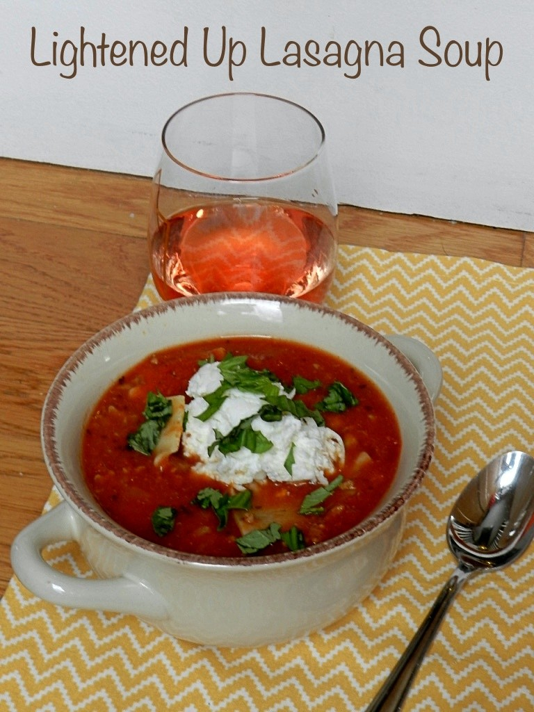 Lighted Lasagna Soup P